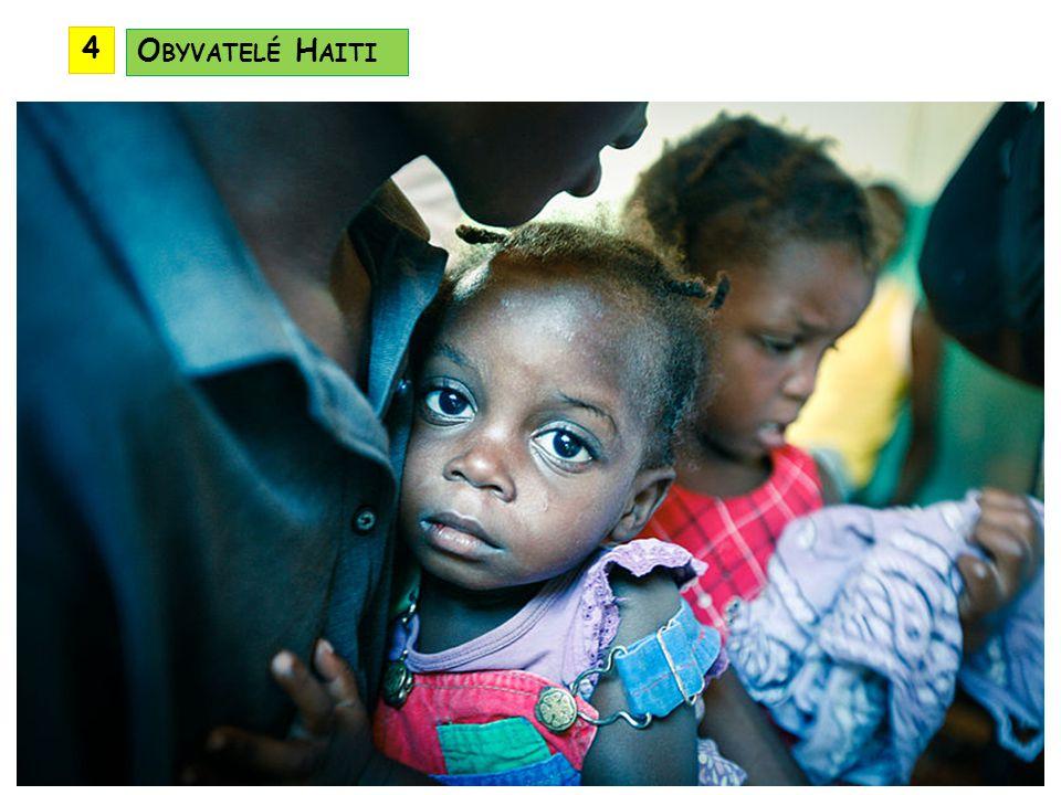 4 Obyvatelé Haiti