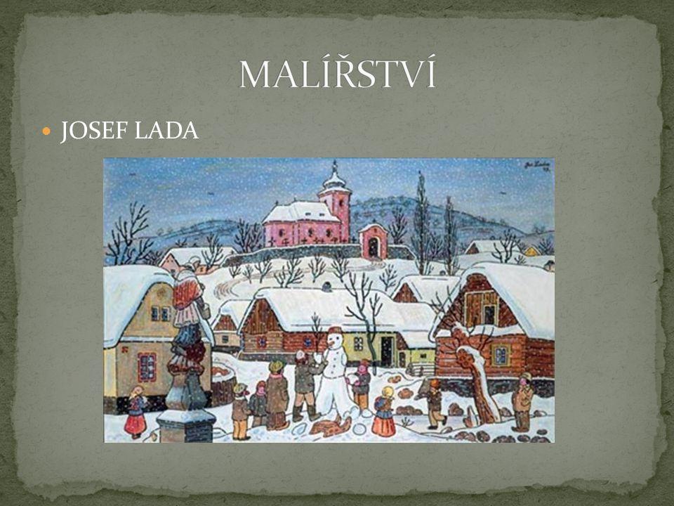 MALÍŘSTVÍ JOSEF LADA