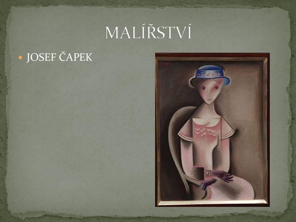 MALÍŘSTVÍ JOSEF ČAPEK