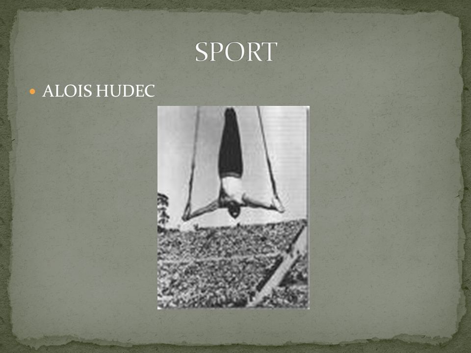 SPORT ALOIS HUDEC