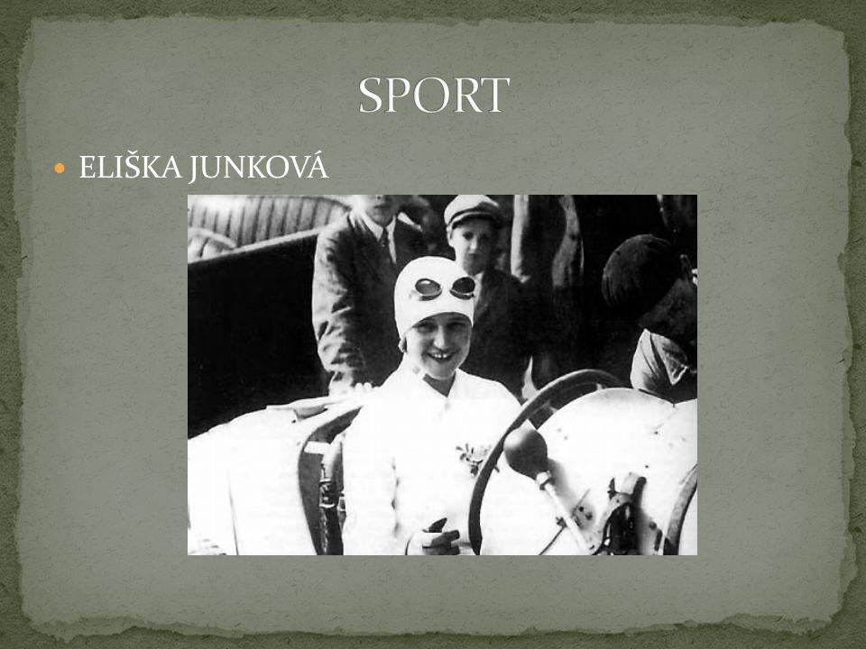 SPORT ELIŠKA JUNKOVÁ
