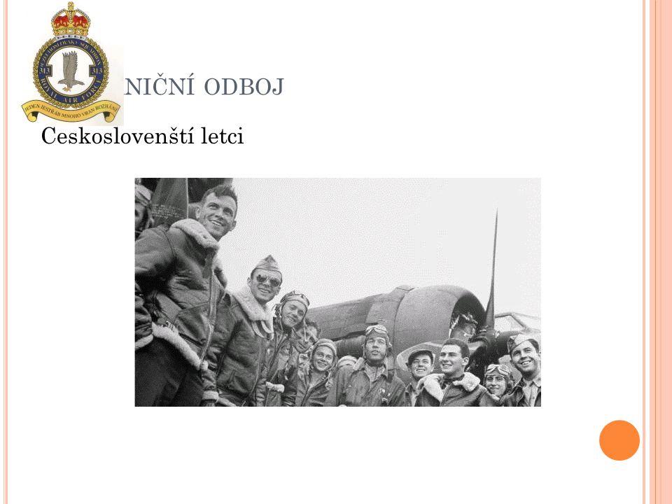 Zahraniční odboj Českoslovenští letci