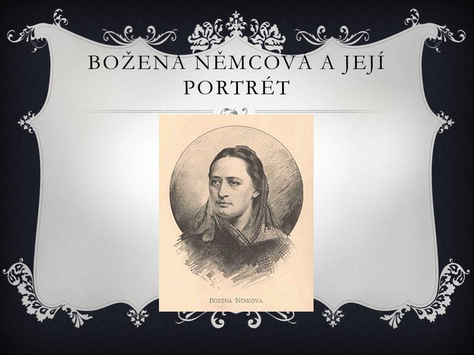 Božena Němcová a její portrét