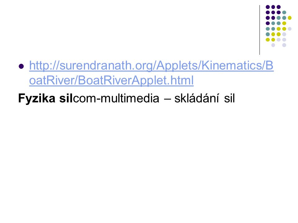 org/Applets/Kinematics/BoatRiver/BoatRiverApplet