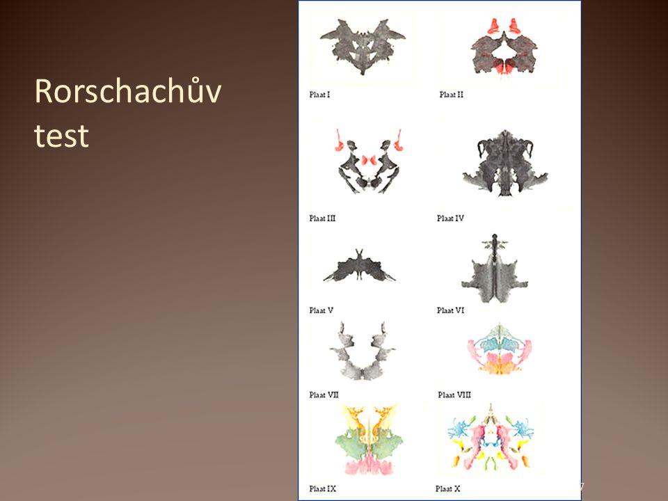 Rorschachův test