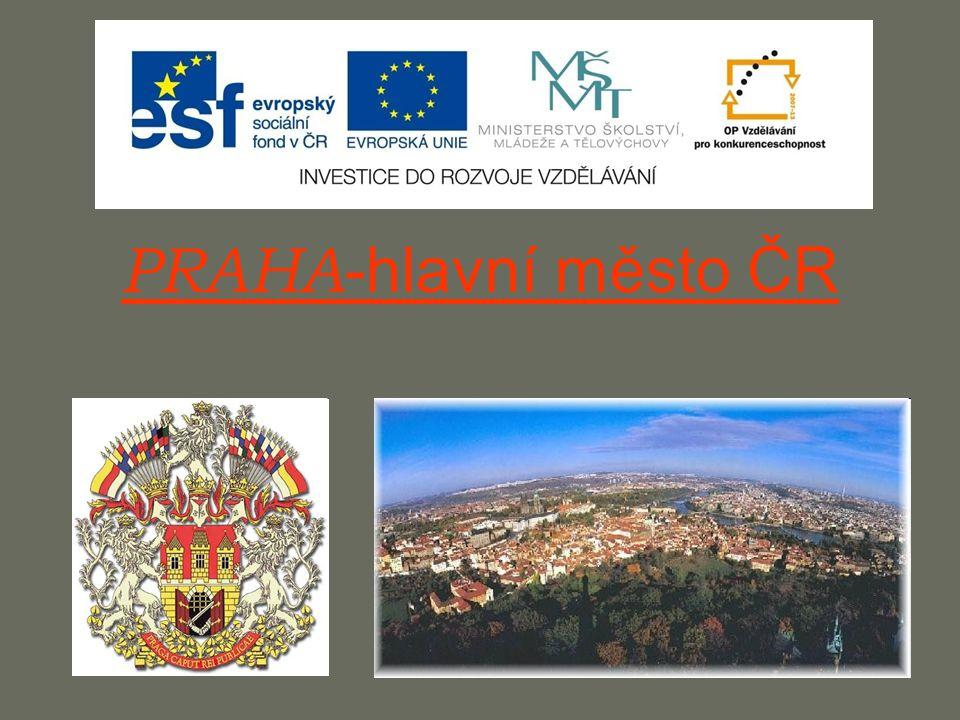 PRAHA-hlavní město ČR
