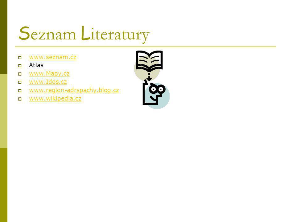 Seznam Literatury www.seznam.cz Atlas www.Mapy.cz www.Idos.cz