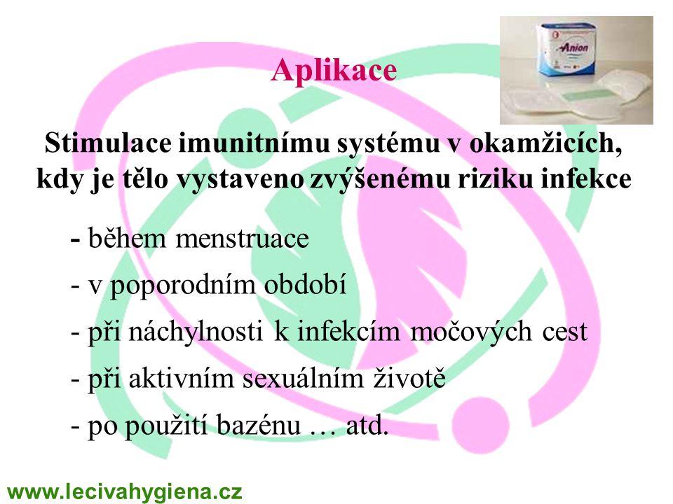 WINALITE Polska Aplikace. Stimulace imunitnímu systému v okamžicích, kdy je tělo vystaveno zvýšenému riziku infekce.