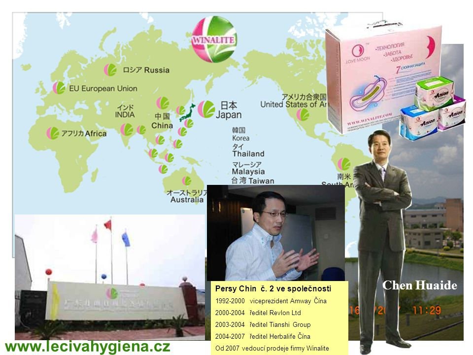 www.lecivahygiena.cz Chen Huaide WINALITE Polska