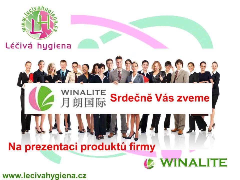WINALITE Srdečně Vás zveme Na prezentaci produktů firmy