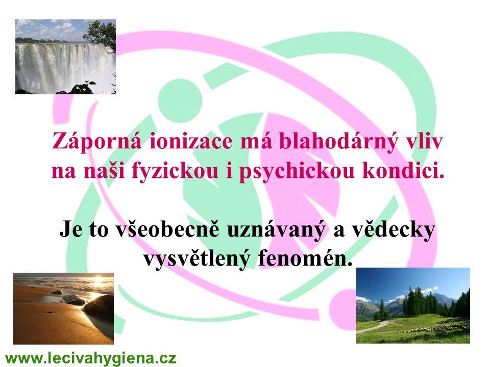 WINALITE Polska Záporná ionizace má blahodárný vliv na naši fyzickou i psychickou kondici. Je to všeobecně uznávaný a vědecky vysvětlený fenomén.