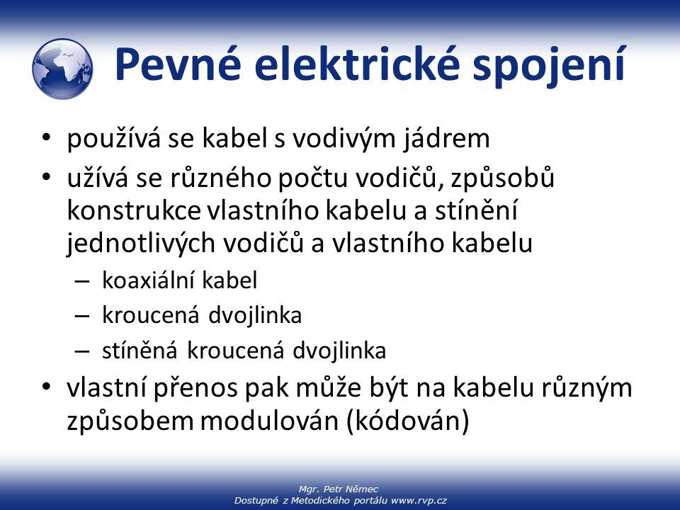 Pevné elektrické spojení