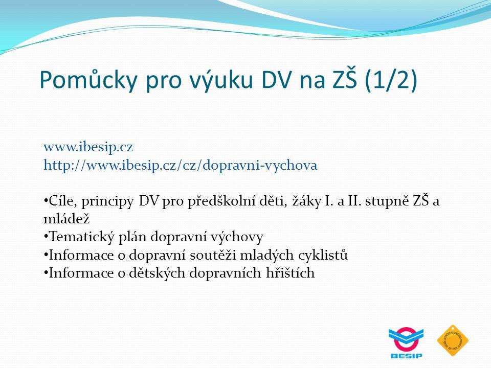 Pomůcky pro výuku DV na ZŠ (1/2)