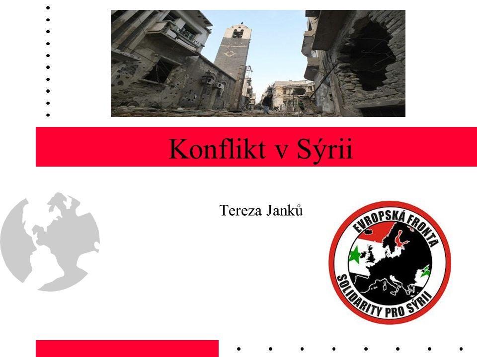 Konflikt v Sýrii Tereza Janků