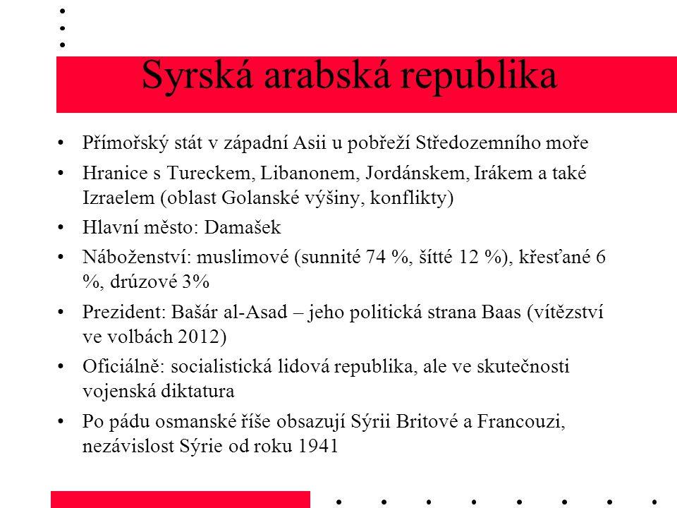 Syrská arabská republika