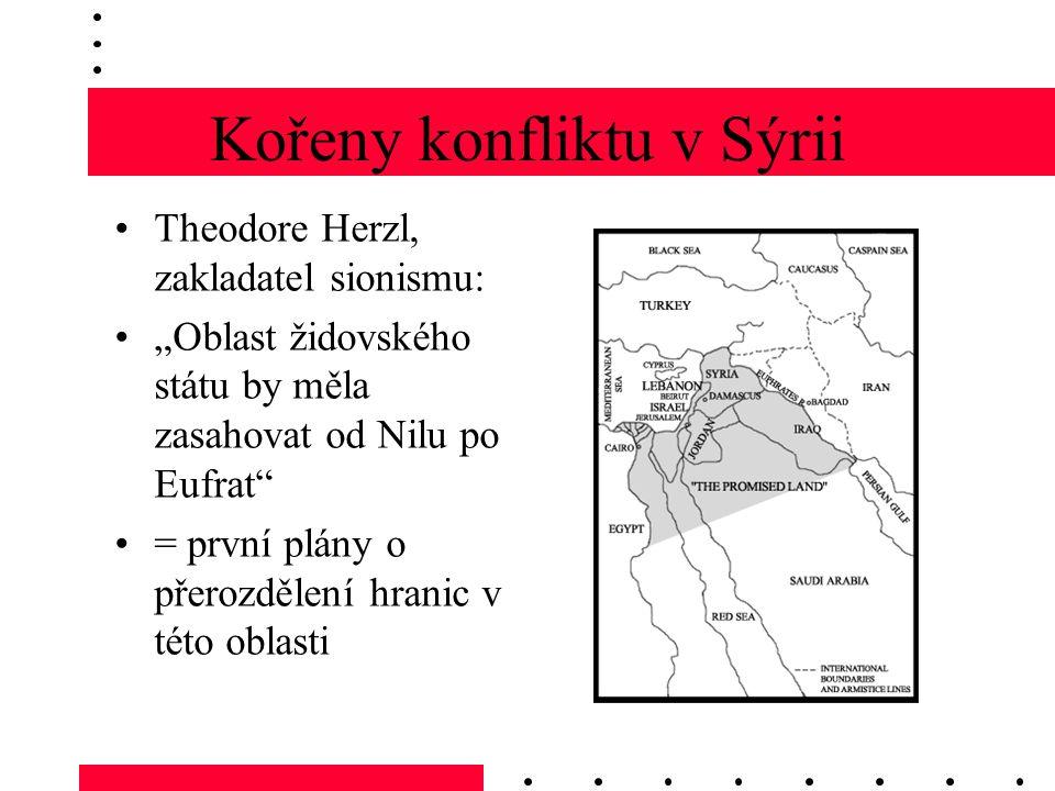 Kořeny konfliktu v Sýrii