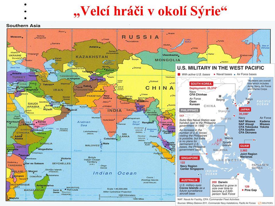 """""""Velcí hráči v okolí Sýrie"""