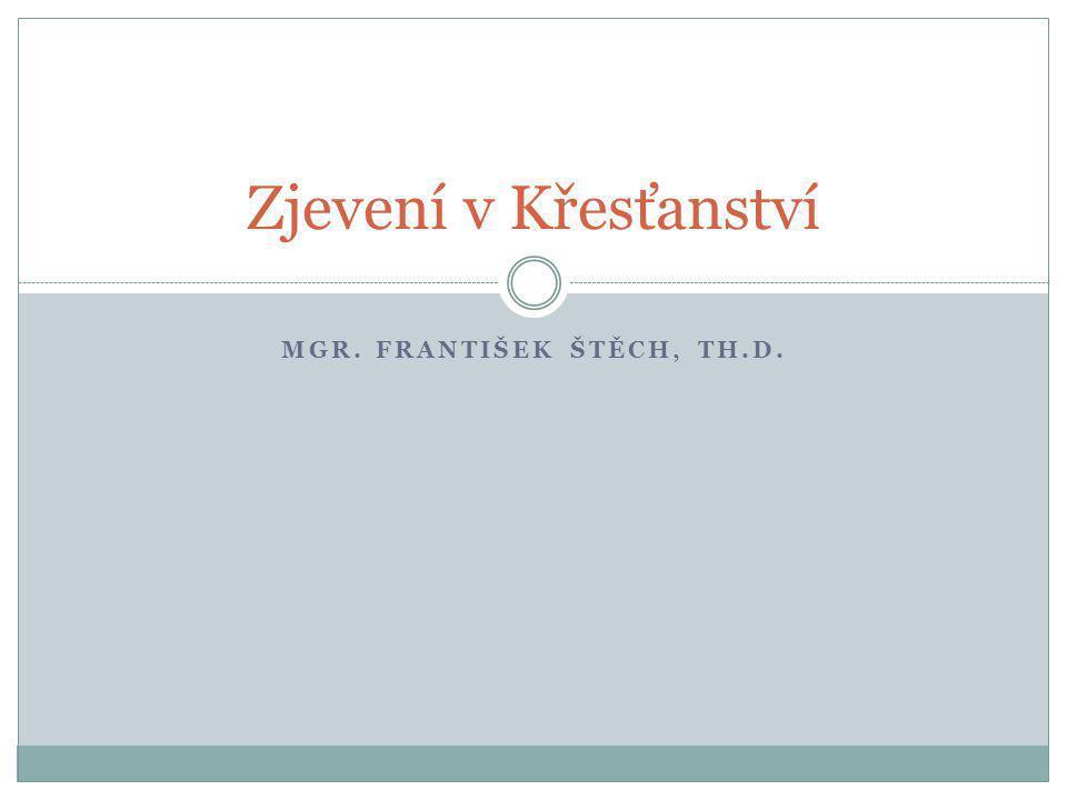 Mgr. František štěch, Th.D.