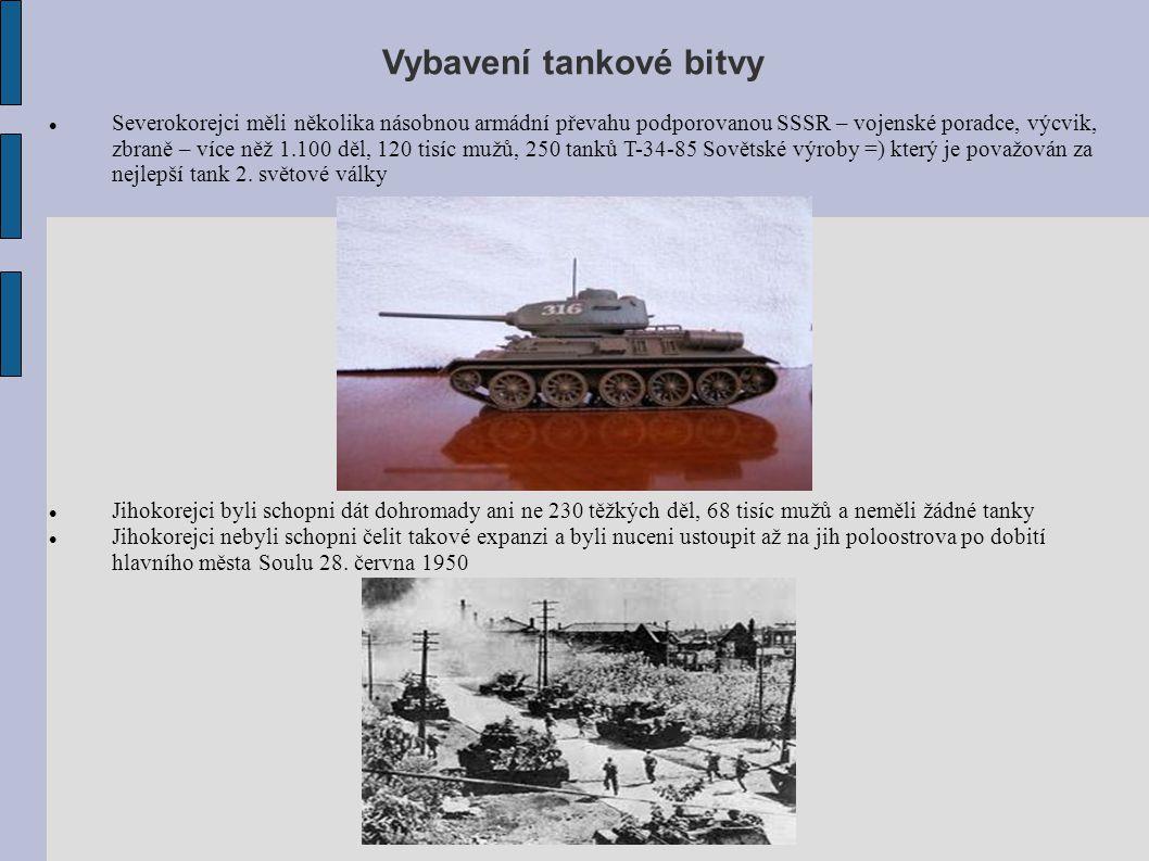 Vybavení tankové bitvy