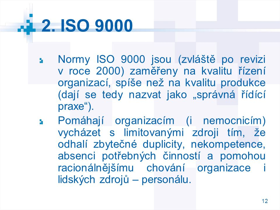 2. ISO 9000