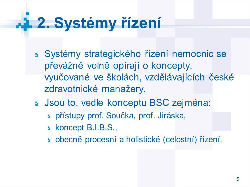 2. Systémy řízení
