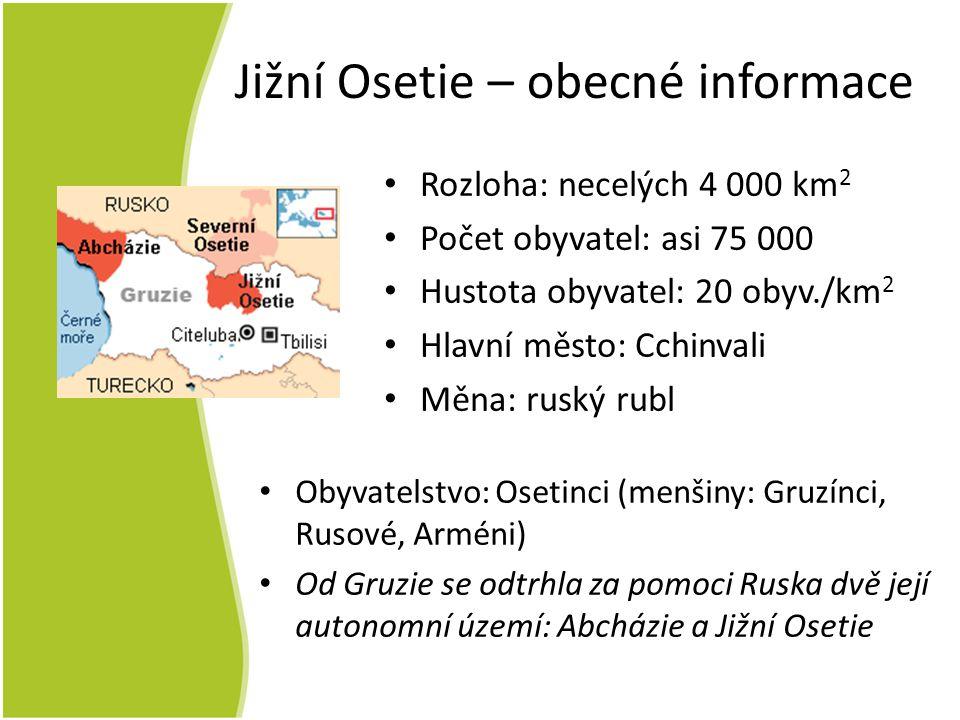 Jižní Osetie – obecné informace