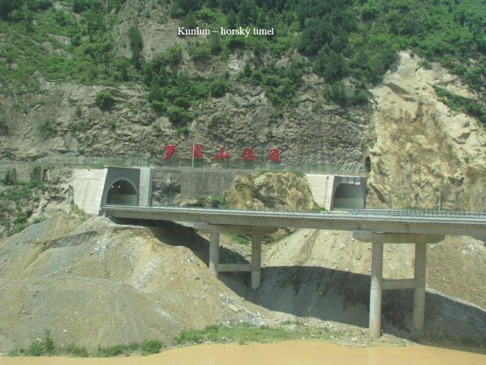 Kunlun – horský tunel