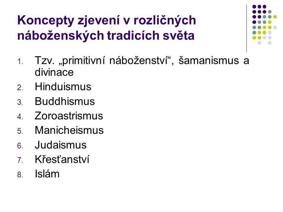Koncepty zjevení v rozličných náboženských tradicích světa