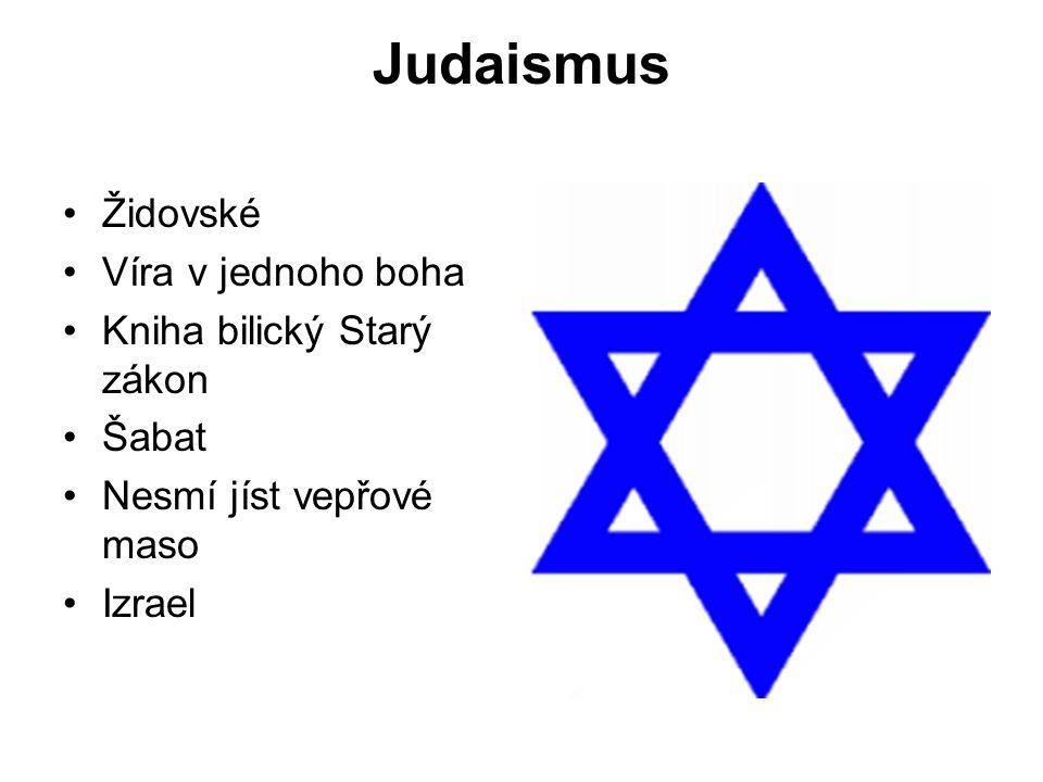 Judaismus Židovské Víra v jednoho boha Kniha bilický Starý zákon Šabat