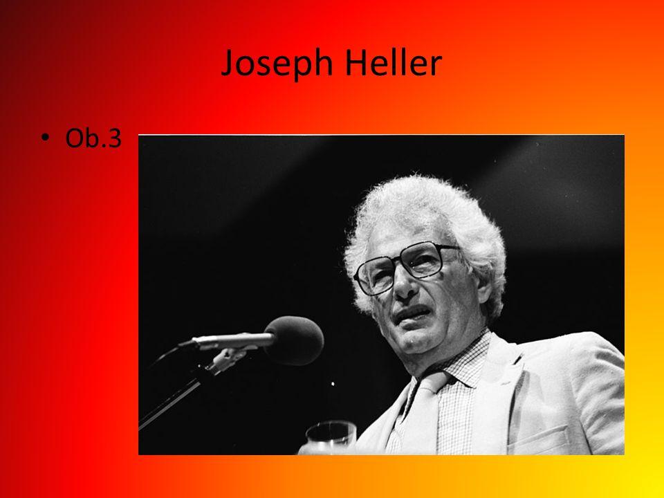 Joseph Heller Ob.3