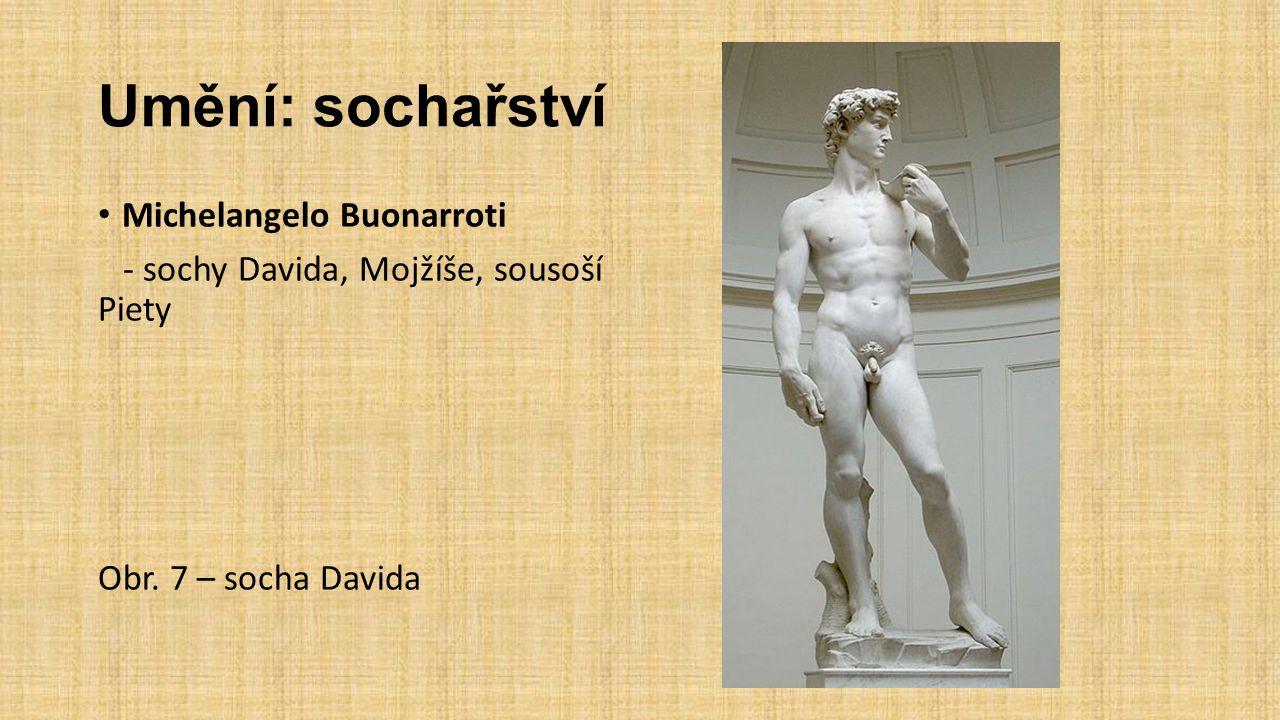 Umění: sochařství Michelangelo Buonarroti