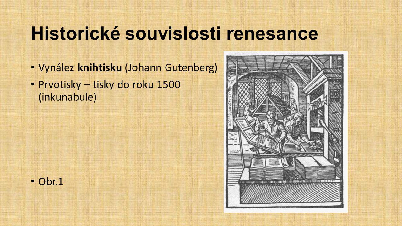 Historické souvislosti renesance