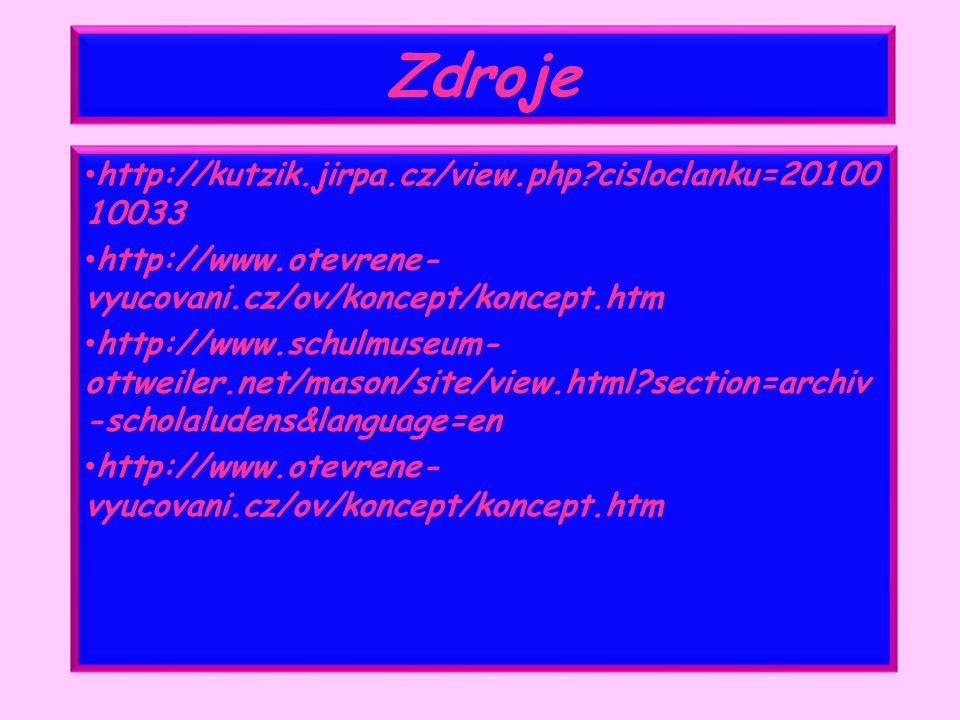Zdroje http://kutzik.jirpa.cz/view.php cisloclanku=2010010033