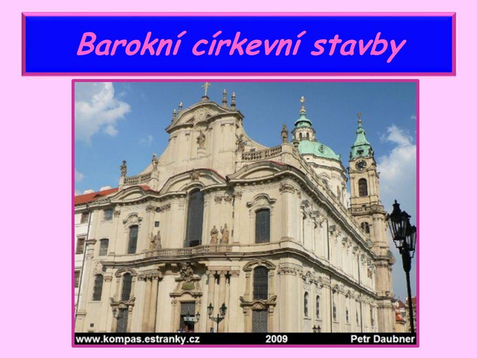 Barokní církevní stavby