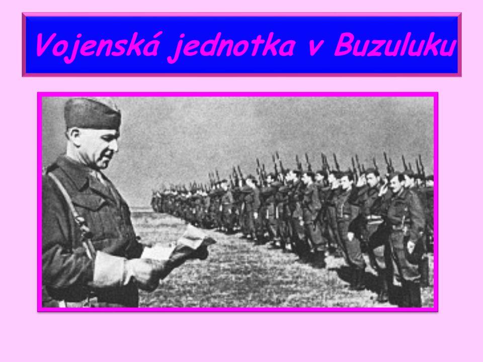 Vojenská jednotka v Buzuluku