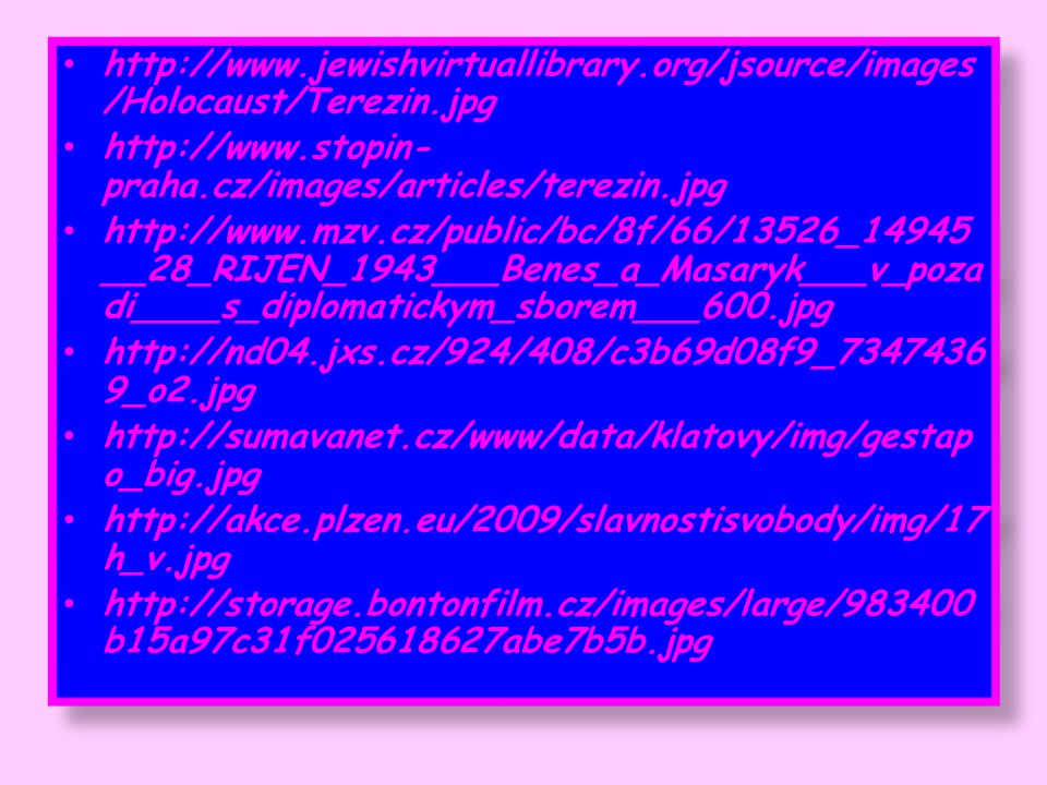 http://www. jewishvirtuallibrary. org/jsource/images/Holocaust/Terezin