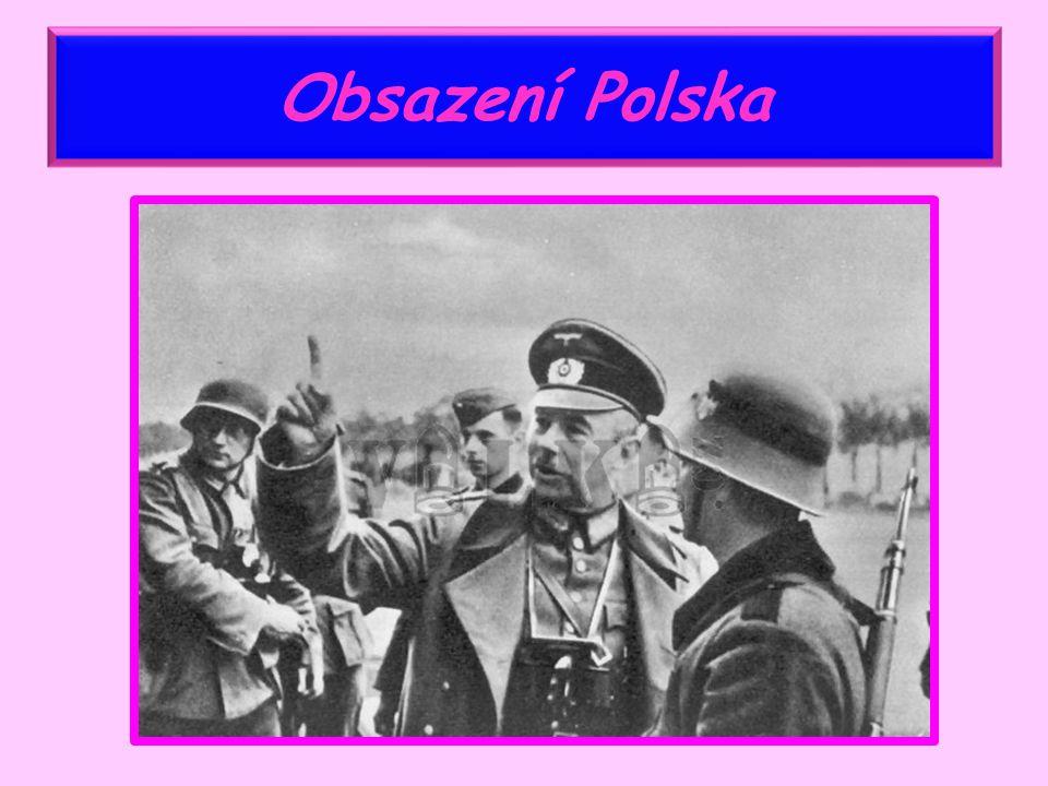 Obsazení Polska