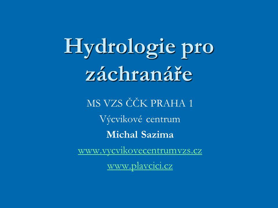 Hydrologie pro záchranáře