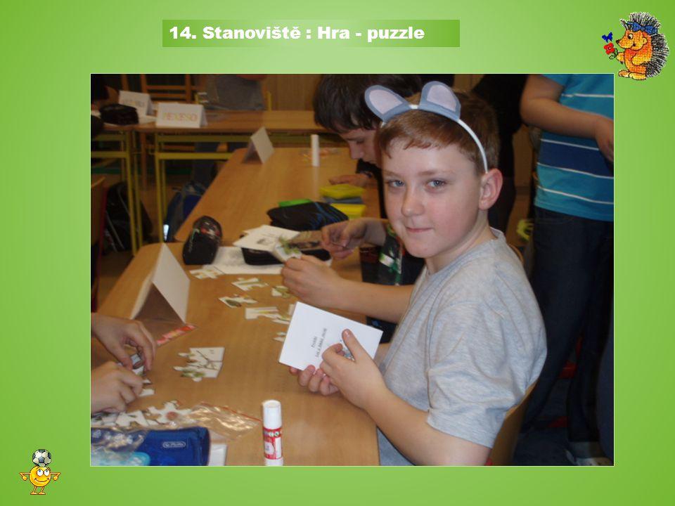 14. Stanoviště : Hra - puzzle