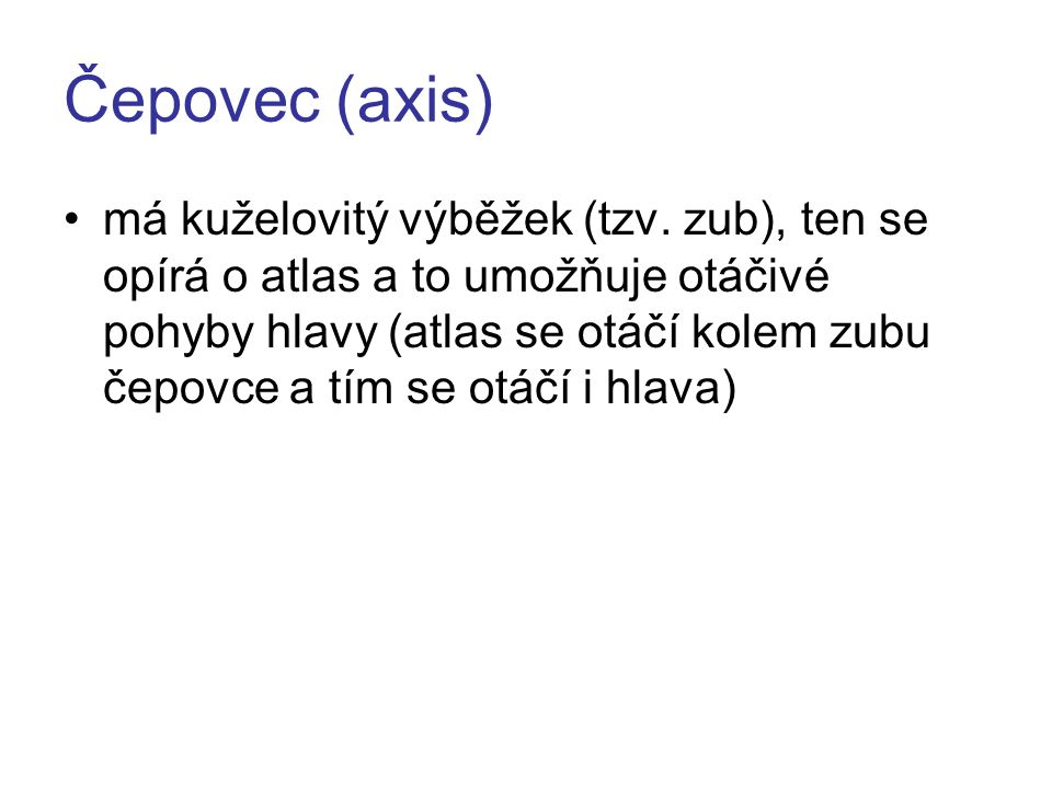 Čepovec (axis)