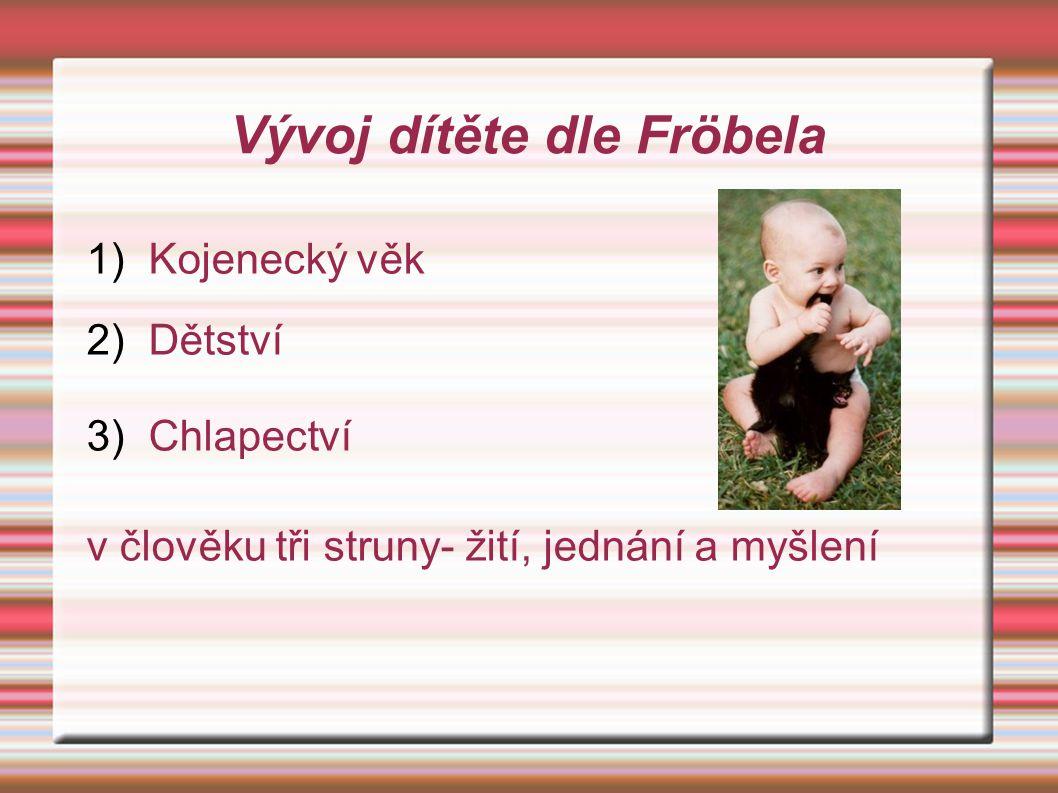 Vývoj dítěte dle Fröbela