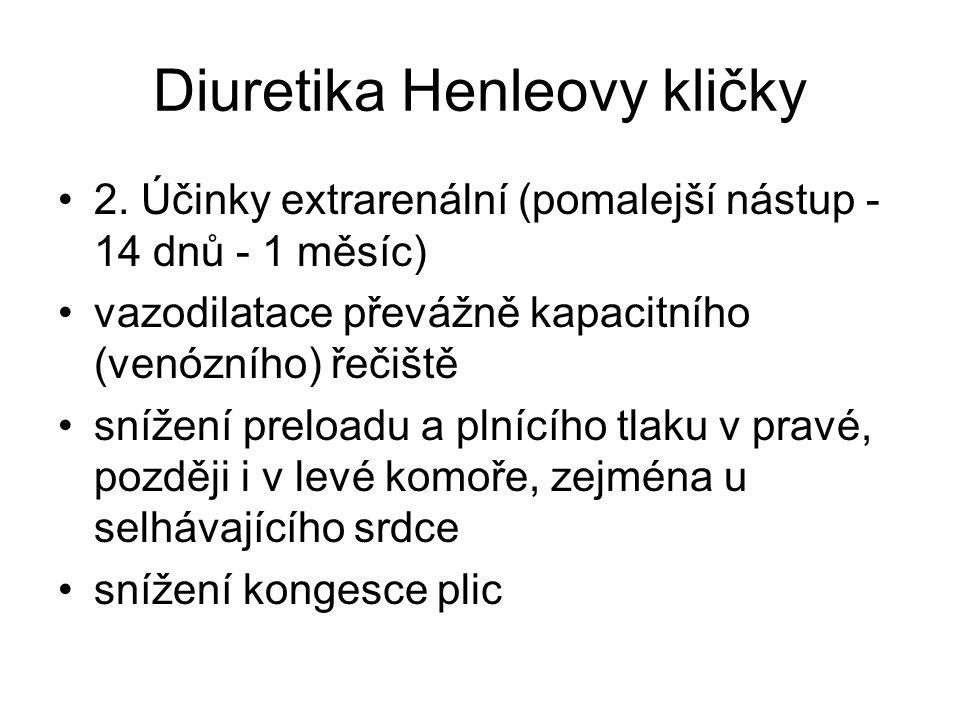 Diuretika Henleovy kličky