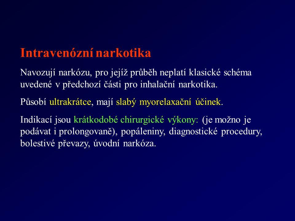 Intravenózní narkotika