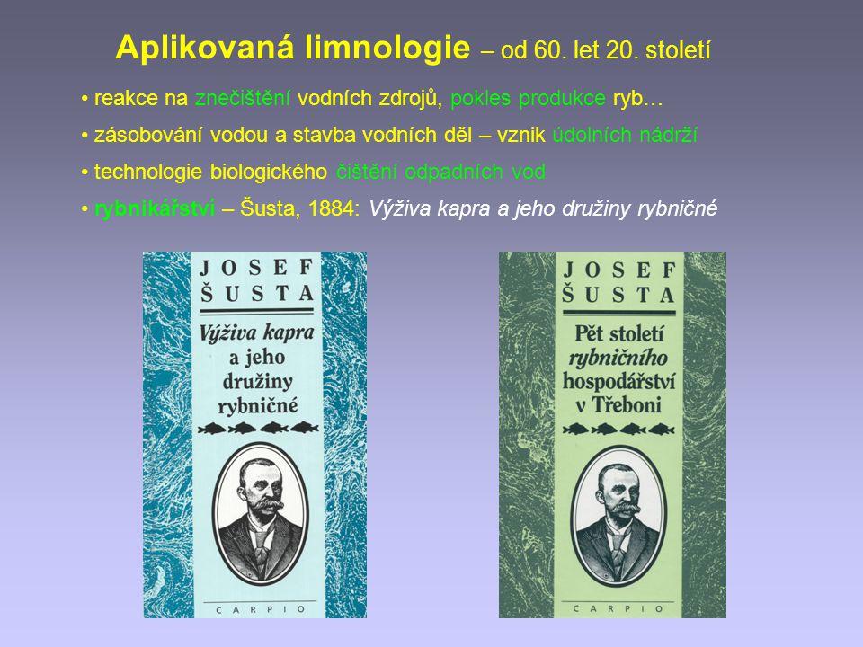 Aplikovaná limnologie – od 60. let 20. století