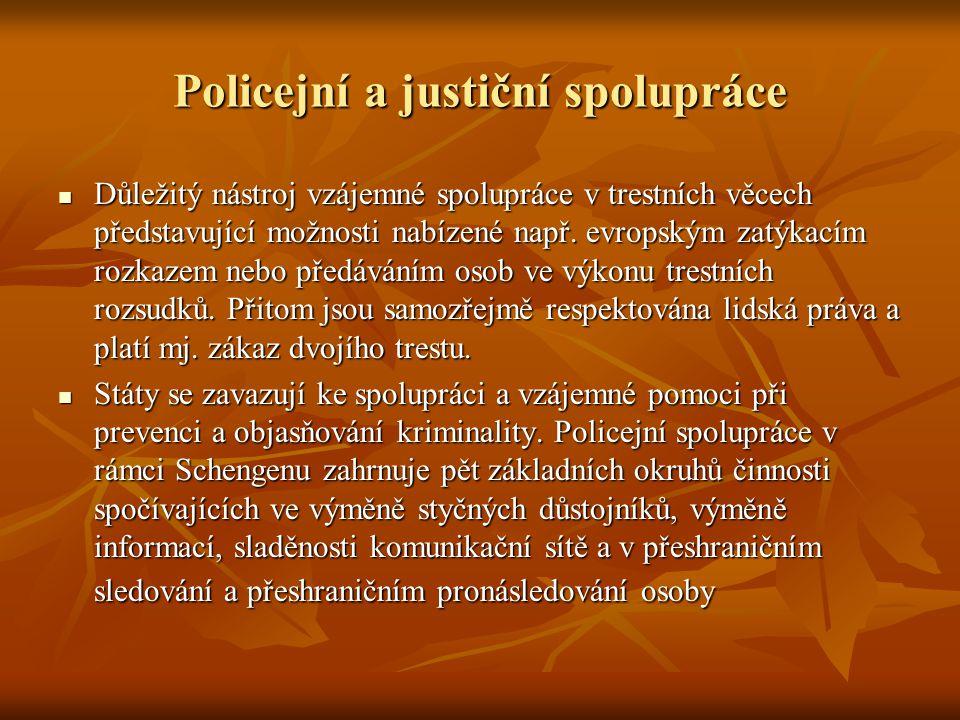 Policejní a justiční spolupráce