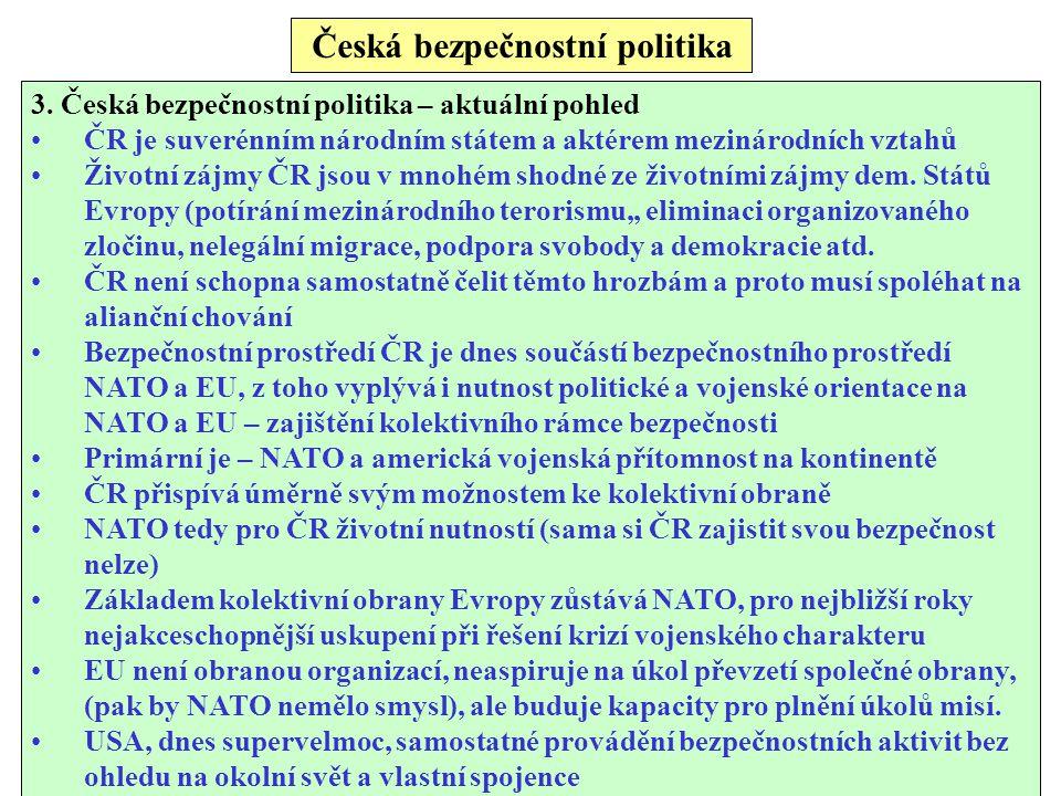 Česká bezpečnostní politika