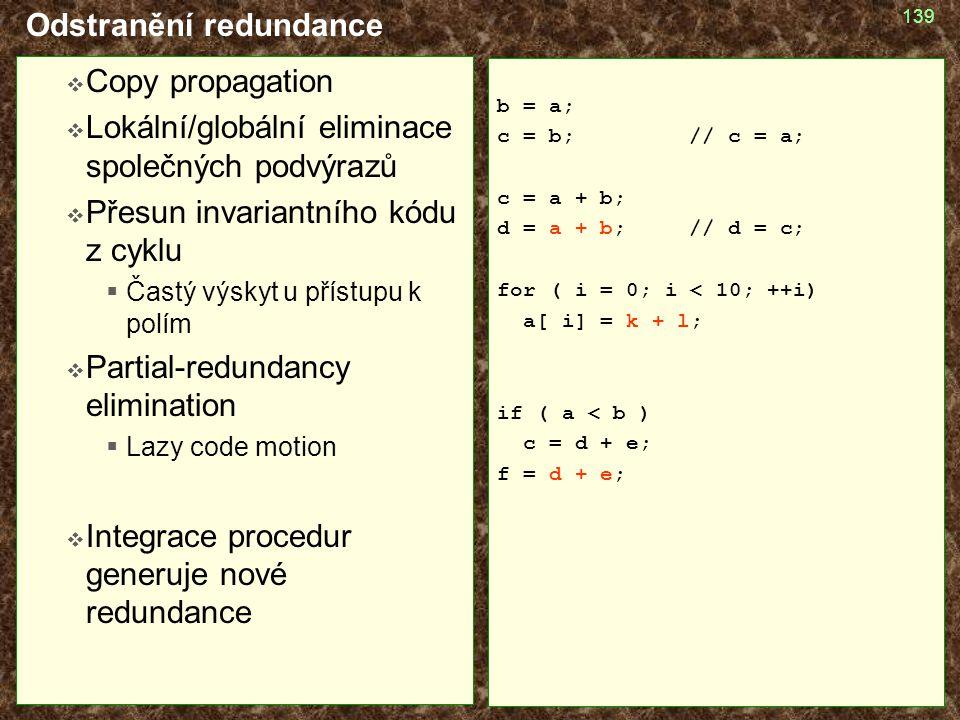 Odstranění redundance