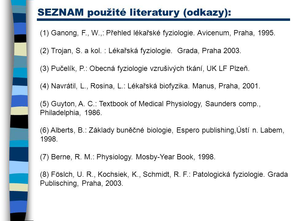 SEZNAM použité literatury (odkazy):