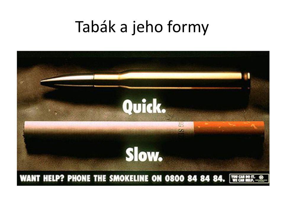 Tabák a jeho formy