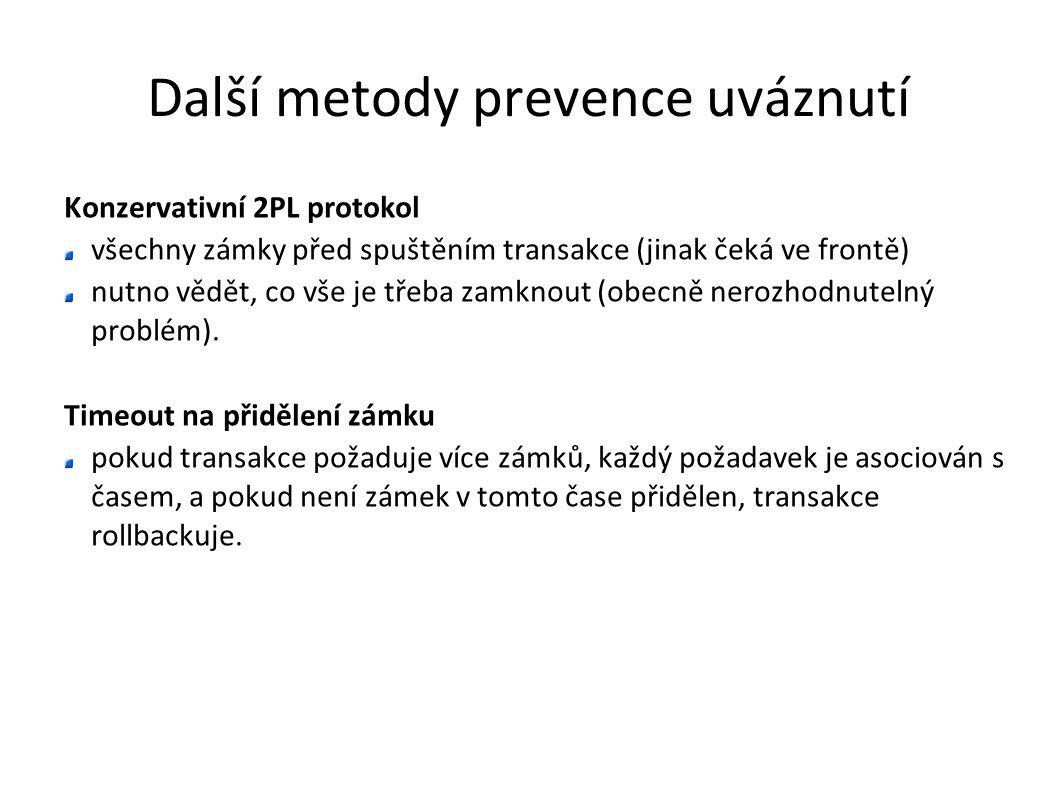 Další metody prevence uváznutí